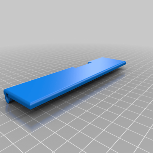 Download free 3D model Sidewinder case - door for access of mainboard and displaycable, elvinhaak