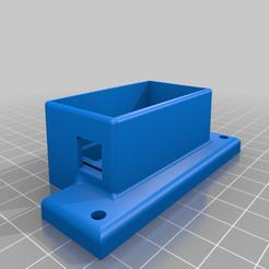Download free 3D printing models Buck_converter_box_with_lid(for RaspberryPi), elvinhaak