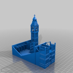 Download free 3D printing models Big Ben Teacher's Desk/Supply Kit, ElijahCole11