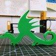 Télécharger STL gratuit Stand de dragon, ElijahCole11