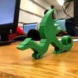 IMG_0113.jpg Download free STL file Dragon Stand/Weighted Paper Holder/Keychain • 3D printable object, ElijahCole11