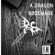 """Télécharger fichier STL gratuit Signet """"Dragon tacheté • Objet pour impression 3D, ElijahCole11"""