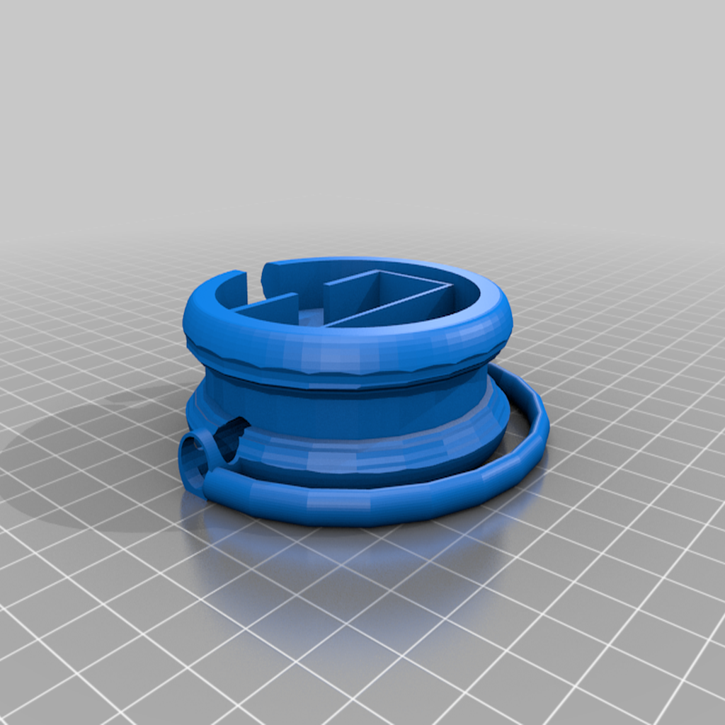 LECASSEEEOUIOUI.png Download free STL file EarBud Concept Lock Case • 3D printable design, ElijahCole11