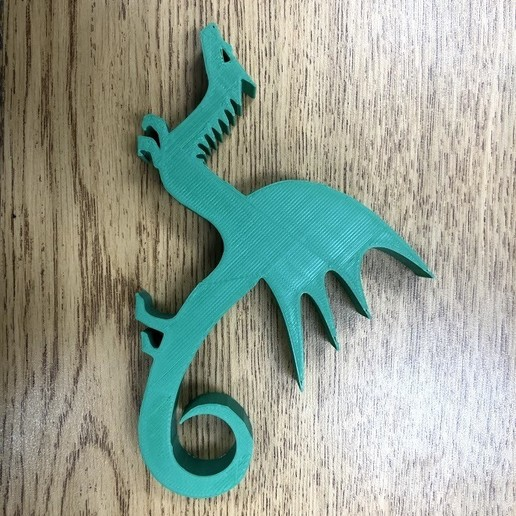 IMG_0115.jpg Download free STL file Dragon Stand/Weighted Paper Holder/Keychain • 3D printable object, ElijahCole11