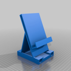Download free 3D model TechHolder w Charger Roller Platform, ElijahCole11