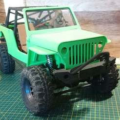 4_Jeep.jpg Download free STL file Jeep Crawler Body (SCX10 clone compatible) • 3D printing design, WrenchToDrive