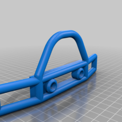 Bumper_14_160.png Download free STL file SCX10 (Clone) Tube Front Bumper LED Ready • Object to 3D print, WrenchToDrive