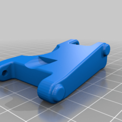 Rear_Lower_Arm_Lowered_V1.png Download free STL file Kyosho Fazer Lowered Suspension Arms (7.5mm drop) • 3D printing design, WrenchToDrive