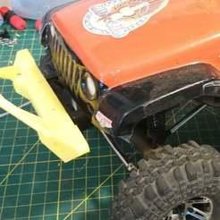 Bumper_1.jpg Download free STL file Redcat Gen 8 Jeep Stinger Bumper (SCX10 Clone Compatible) • 3D print design, WrenchToDrive