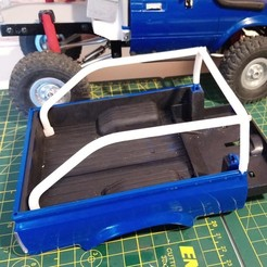 Box_Roll_Bar_Thumb.jpg Download free STL file WPL C24 Toyota Hilux Box Mounted Roll Bar • 3D printable template, WrenchToDrive
