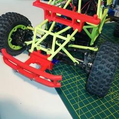 Download free 3D print files WLToys 12428 Baja Bumper Kit, WrenchToDrive