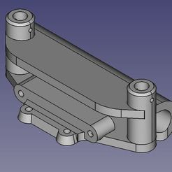Bumper_1.JPG Télécharger fichier STL gratuit Pare-chocs avant du Kyosho Fazer MK2 • Design à imprimer en 3D, WrenchToDrive