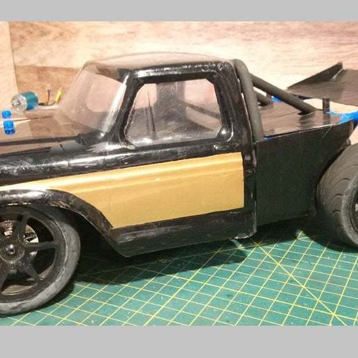 Download free STL file Kyosho Fazer Race Truck Back Half Cage • Design to 3D print, WrenchToDrive