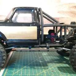 Thumb_Side_View.jpg Download free STL file RedCat Gen 8/Axial Clone Ford Honcho Back Half • Template to 3D print, WrenchToDrive