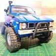 Descargar STL gratis WPL C24/C14 Toyota Hilux Bull Bar, WrenchToDrive