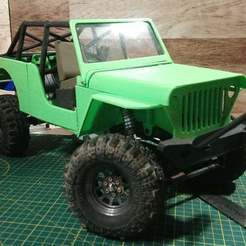 Jeep_Thumb.jpg Download free STL file Jeep Front Inner Fenders • Model to 3D print, WrenchToDrive