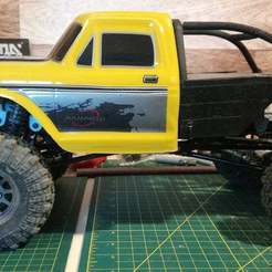 12428_SCX10_Clone.jpg Download free STL file WLToys 12428 Honcho Crawler Back Half (SCX10 clone or RedCat Gen 8) • Design to 3D print, WrenchToDrive