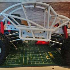 Beetle_Bouncer_Thumb.jpg Download free STL file WPL Beetle Bouncer C24/C14 Mod Trail Buggy • 3D printer object, WrenchToDrive