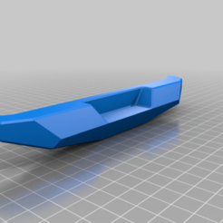 BMP10_no_Holes.png Download free STL file SCX10 Clone Crawler Stealth(ish) Rear Bumper • 3D print object, WrenchToDrive