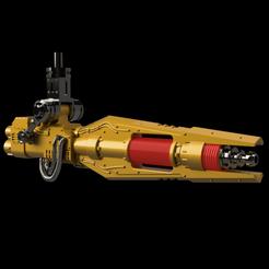 Descargar modelo 3D gratis TDC ACKBAR - Pistola Voladora, pelicram