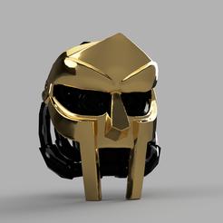 Descargar archivos 3D gratis Máscara de la Cruzada DOOMinion - Hito de los 100 seguidores!, pelicram