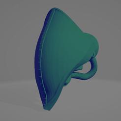 Descargar diseños 3D gratis Cabeza de Caballero Psíquico para TDC, pelicram