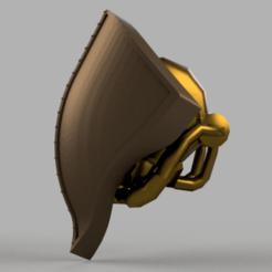 Descargar archivos STL gratis La cabeza del Caballero Psíquico para el Adeptus Titanicus, pelicram