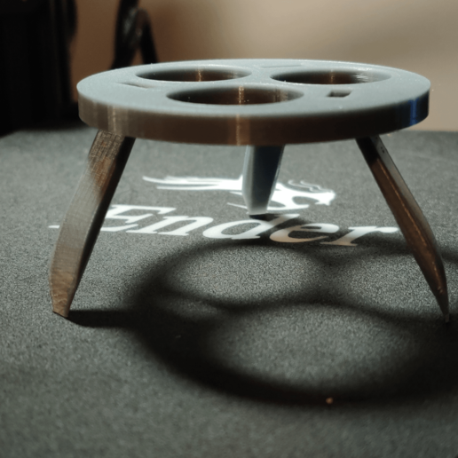 Download free STL file Can Cozy/Koozie Tripod with folding legs • 3D printable model, Hiidenkivi-Design