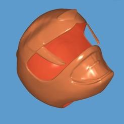 Descargar Modelos 3D para imprimir gratis Casco de los Rangers Amarillos, ZankooX