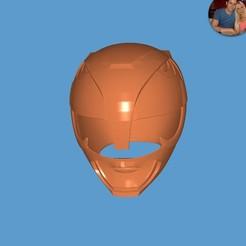 Descargar diseños 3D gratis Casco de los Black Rangers, ZankooX