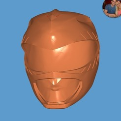 Download free 3D printer templates Green Ranger Helmet, ZankooX