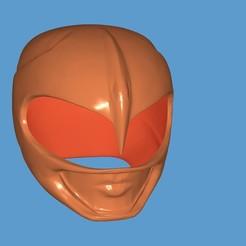 Download free 3D model Pink Ranger Helmet, ZankooX