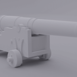 canon.png Download STL file Medieval Canyon • 3D print object, el_chozas
