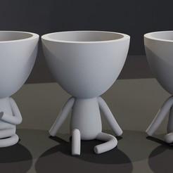 imagen1.jpg Descargar archivo STL FLOREROS ESTILO ROBERT (8modelos) • Diseño imprimible en 3D, el_chozas