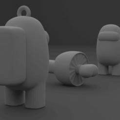 portada e.png Télécharger fichier STL Parmi les personnages du porte-clés • Modèle pour impression 3D, el_chozas
