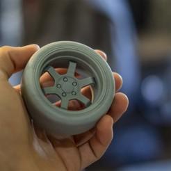 Main 1.jpg Download free STL file Wheel • 3D printer model, SYDBONZ