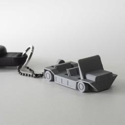 Avant Zoom.jpg Download free STL file Low Poly - Mini Moke Keychain • 3D printer object, SYDBONZ