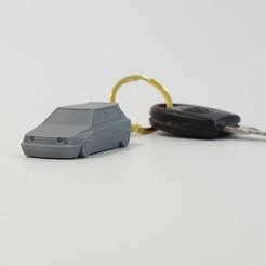 Avant Zoom.jpg Download free STL file Low Poly - Keychain VW Golf III Aero Kit • 3D print template, SYDBONZ