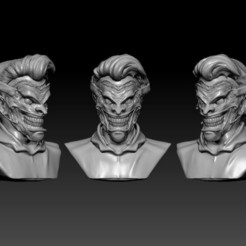 JOKER PORTADA.JPG Download 3MF file Joker New 52 Guason Penholder • 3D printer design, RuVa_Printing