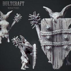 Goblin_Warrior_2.jpg Download OBJ file Goblin warrior • Design to 3D print, Wildwildivan