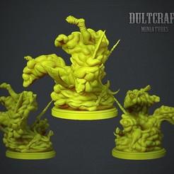 Download free OBJ file Jelly monster • 3D print model, Wildwildivan