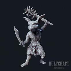 Goblin_Warrior_1.jpg Download OBJ file Goblin warrior ver. 1 • 3D printer model, Wildwildivan