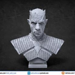Descargar diseños 3D gratis Busto del rey de la noche, Wildwildivan