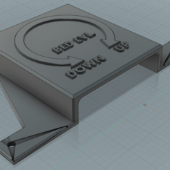ender 3 fan cover perso.png Download free STL file Creality Ender 3 - Fan Cover  • Object to 3D print, Li-Kou