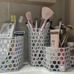 Impresiones 3D gratis Bathroom Organizer , FilaworKs