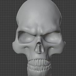 Descargar archivos STL DMC - Devil May Cry cráneo en la espalda de Dante, e4ngel