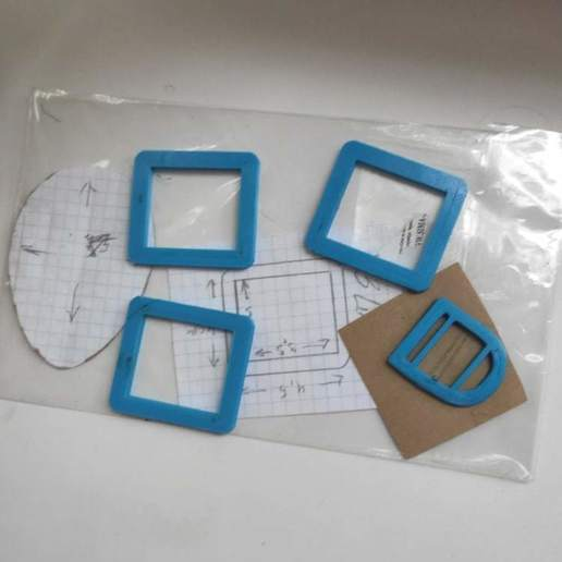 Download 3D printer designs buckles No 229, e4ngel