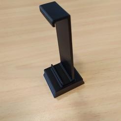 IMG_20200522_084944.jpg Descargar archivo STL Soporte de teléfono con trípode • Diseño imprimible en 3D, jakubw0