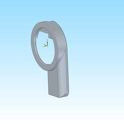 filter holder for only phone 2.jpg Descargar archivo 3MF Soporte de filtro de 52 mm para el smartphone • Diseño para la impresora 3D, jakubw0