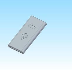 obudowa.jpg Download STL file Samsung powerbank cover • 3D print template, jakubw0